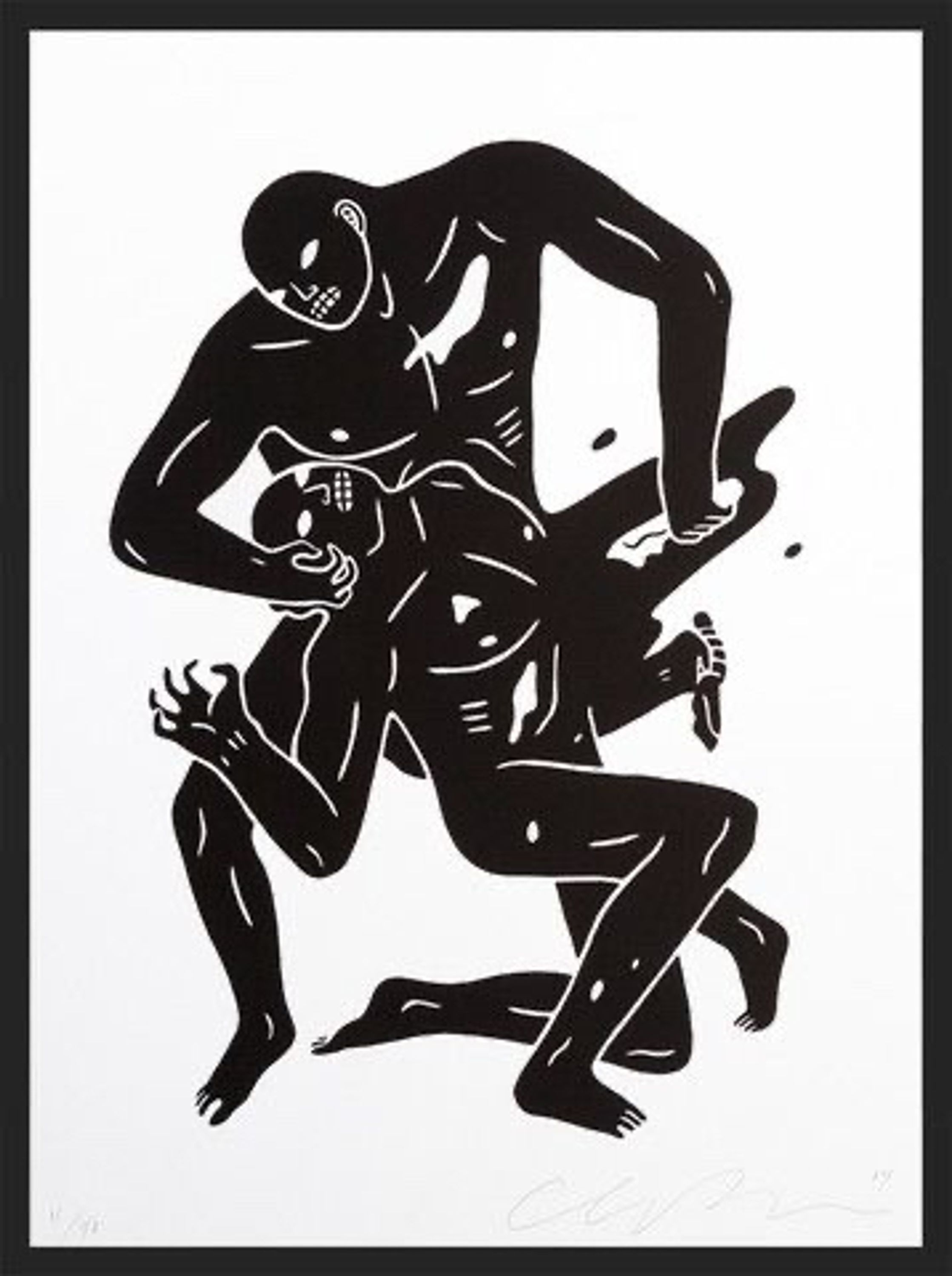 Eye For Eye by Cleon Peterson, Movel