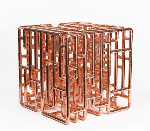 Conduit Cell for the Elevation of Harmonic Alignment & Geometric Healing - Model I by Steven Shearer, Charles Riva Collection