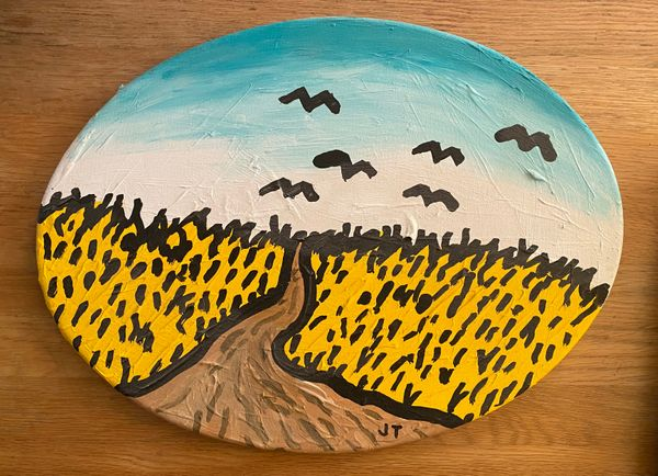 """""""Wheatfield with Crows"""""""