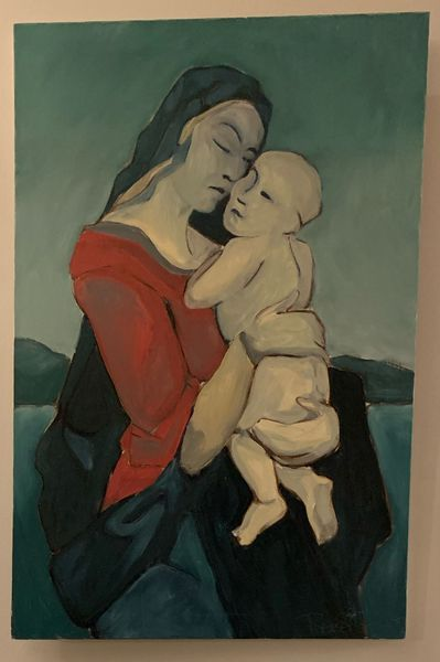 Madonna and Child by Roger Steven Swan, Dick Mac