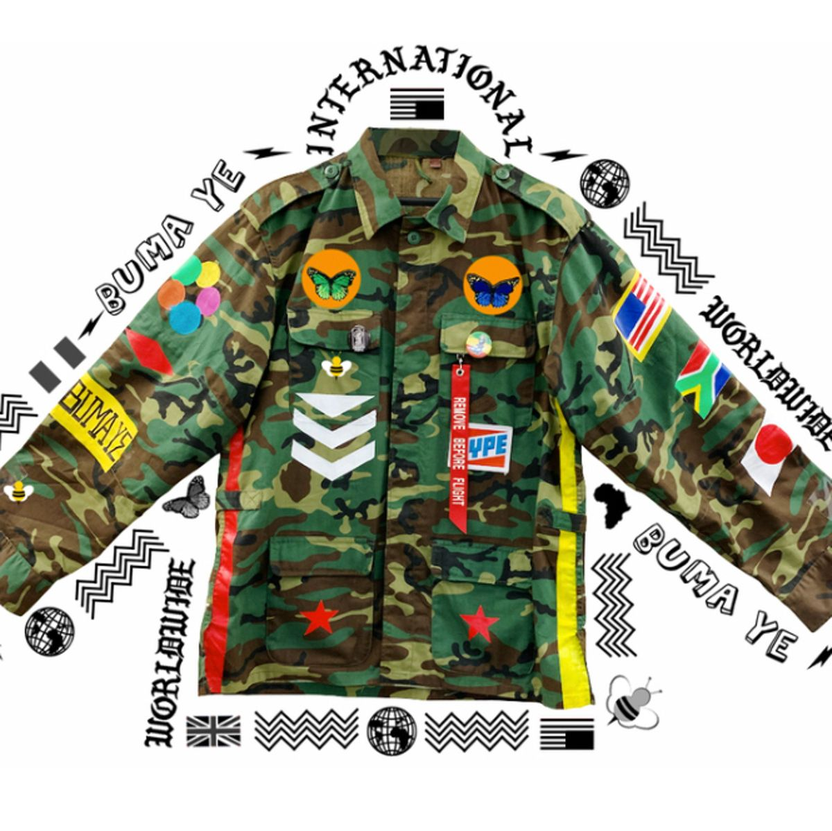 Muhammad Ali Vintage Military Jacket (Singapore) by Zeph Farmby, Dick Mac (3 of 4)