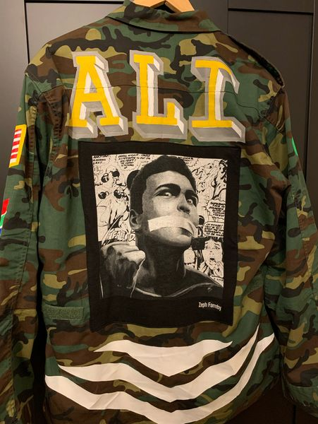 Muhammad Ali Vintage Military Jacket (Singapore) by Zeph Farmby, Dick Mac (2 of 4)