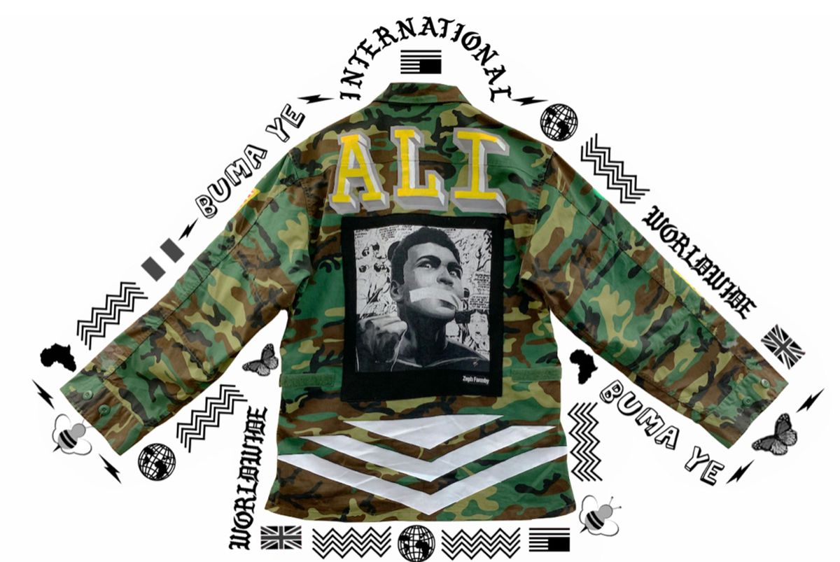 Muhammad Ali Vintage Military Jacket (Singapore) by Zeph Farmby, Dick Mac (4 of 4)