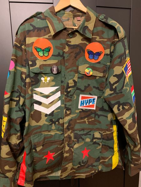 Muhammad Ali Vintage Military Jacket (Singapore) by Zeph Farmby, Dick Mac