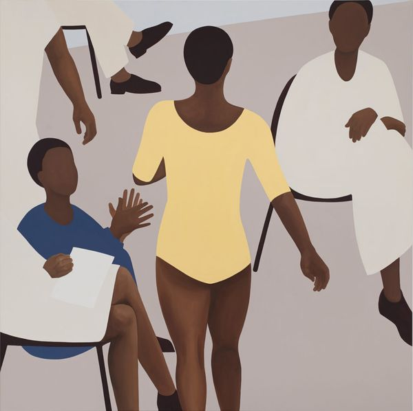 Painter Thenjiwe Niki Nkosi Captures the Moments Just Before Legendary Black Gymnasts Perform Daring Routines—See Images Here
