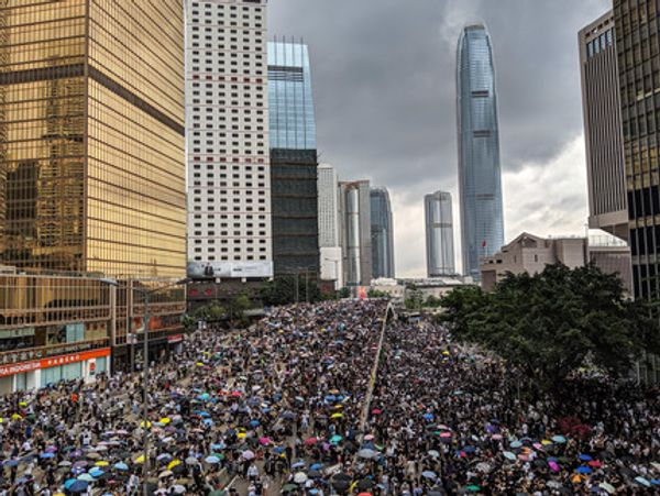 HONG KONG ARTISTS RISK EXILE BY LAUNCHING PRO-DEMOCRACY PLATFORM