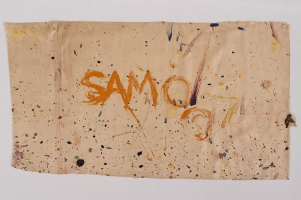 The Lost Jean-Michel Basquiat: A New Auction House Just Sold the Only SAMO Tag to Ever Come to Market
