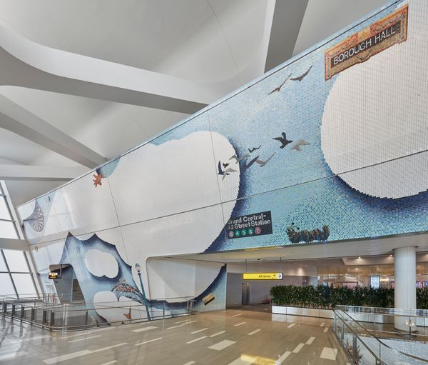 With Reopening Under Way, New York Governor Andrew Cuomo Unveils Newly Commissioned Art at LaGuardia Airport