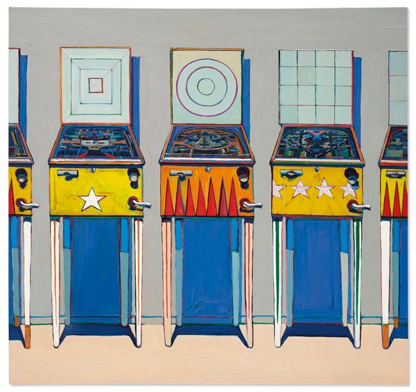 Wayne Thiebaud's Painting of Pinball Machines Could Fetch $25 Million at Christie's, Shattering the Artist's Auction Record