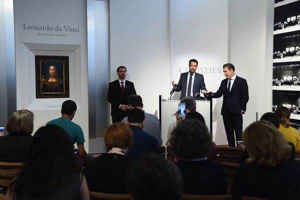 The former Christie's co-chairman Loïc Gouzer is launching a virtual auction platform.