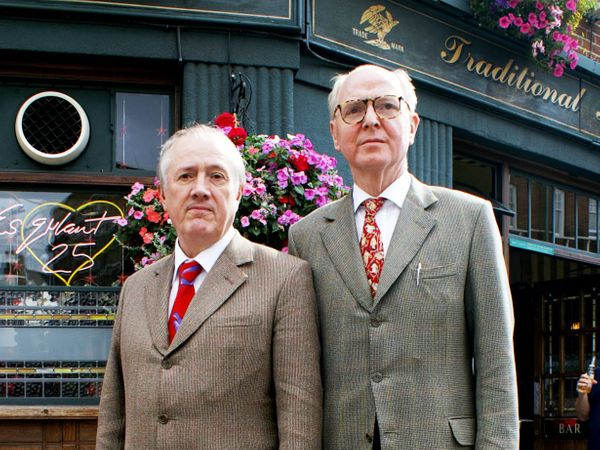 Gilbert & George quit Royal Academy over exhibition snub