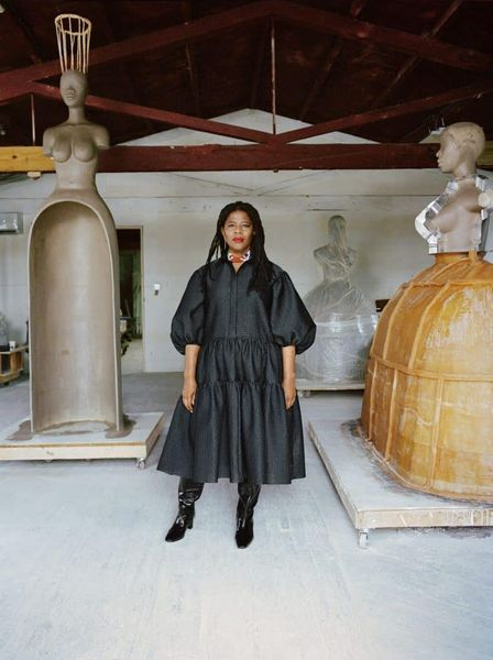 Simone Leigh, The Sculptor Making History at the Art World's Biggest Fair