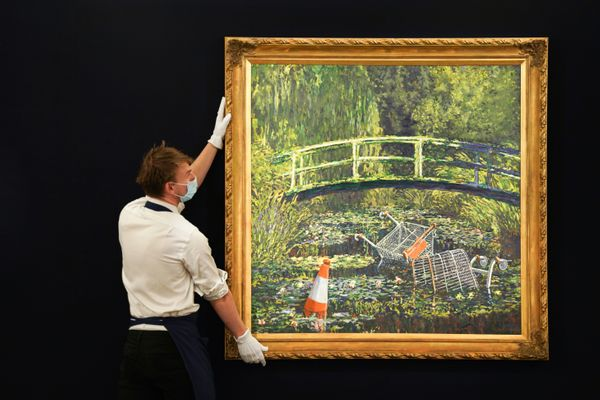 Banksy Painting Sells for $10M, Surpassing Its High Estimate