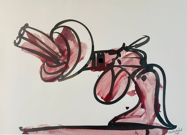 untitled, (Knotted-Gun; Non-Violence)