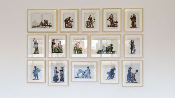 Waiting for the Sibyl by William Kentridge, Lia Rumma Gallery (3 of 5)