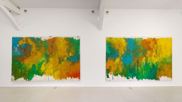The Shape of Colour by Hermann Nitsch, Galerie RX
