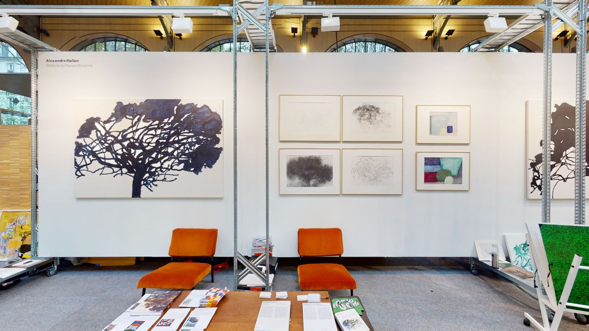 Booth at Galeristes 2020