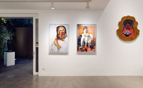 PARALLELS AND PERIPHERIES: Fractals and Fragments (Group Exhibition), Galleria Anna Marra (6 of 10)