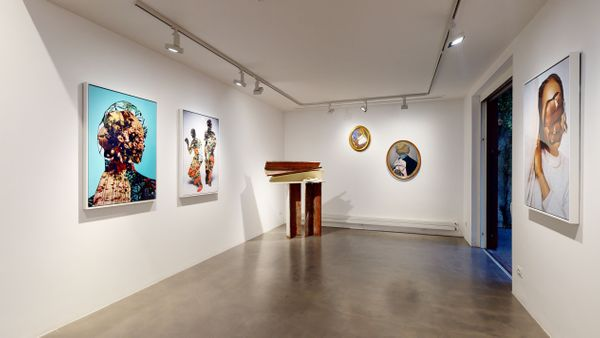 PARALLELS AND PERIPHERIES: Fractals and Fragments (Group Exhibition), Galleria Anna Marra (10 of 10)