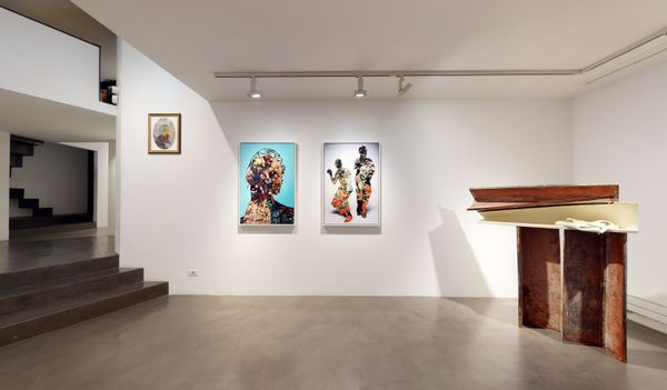 PARALLELS AND PERIPHERIES: Fractals and Fragments (Group Exhibition), Galleria Anna Marra (5 of 10)