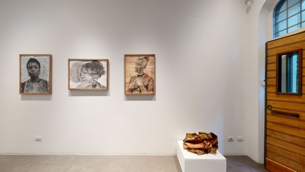 PARALLELS AND PERIPHERIES: Fractals and Fragments (Group Exhibition), Galleria Anna Marra (9 of 10)