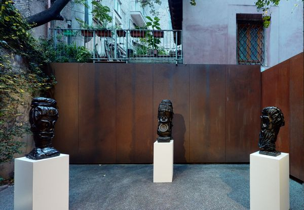 PARALLELS AND PERIPHERIES: Fractals and Fragments (Group Exhibition), Galleria Anna Marra (8 of 10)