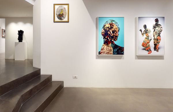 PARALLELS AND PERIPHERIES: Fractals and Fragments (Group Exhibition), Galleria Anna Marra (4 of 10)