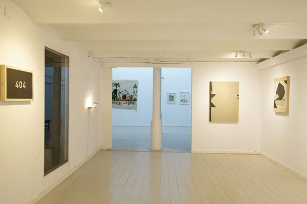 Abstraccions (Group Exhibition), L&B (3 of 4)