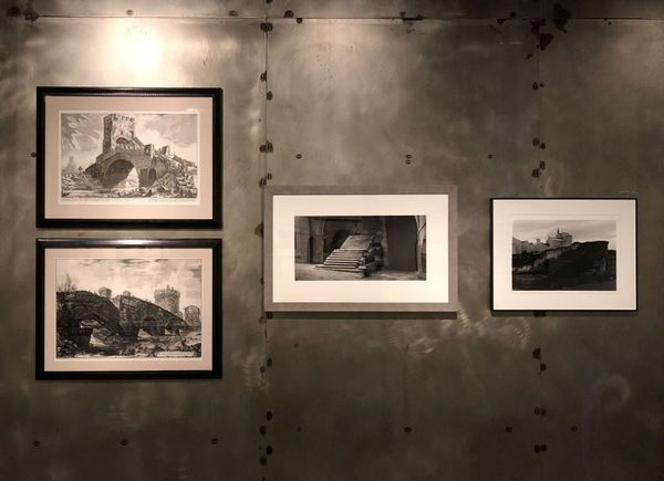 Etchings and photographs