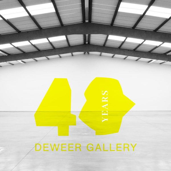 BYE, BYE AND HELLO - 40 YEARS DEWEER GALLERY