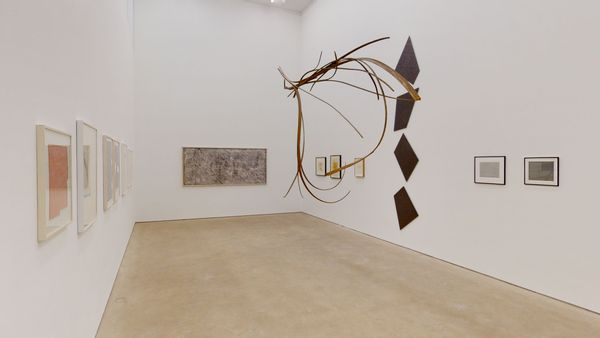 A Space full of Drawings and a Drawing in Space (Group Exhibition), Daniel Marzona