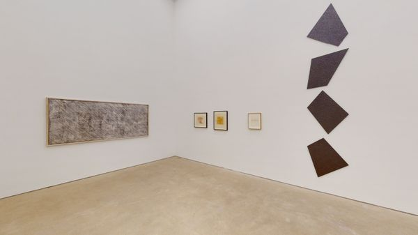 A Space full of Drawings and a Drawing in Space (Group Exhibition), Daniel Marzona (3 of 3)