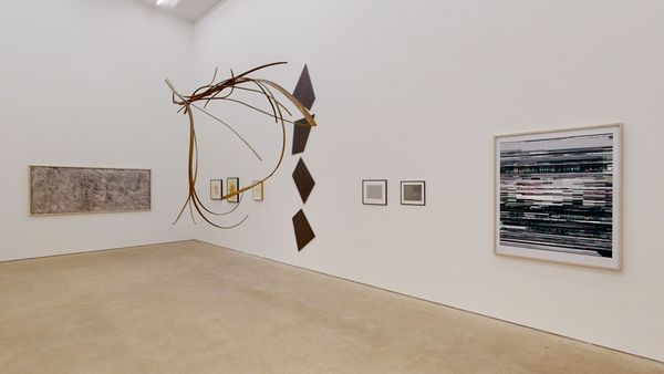 A Space full of Drawings and a Drawing in Space (Group Exhibition), Daniel Marzona (2 of 3)