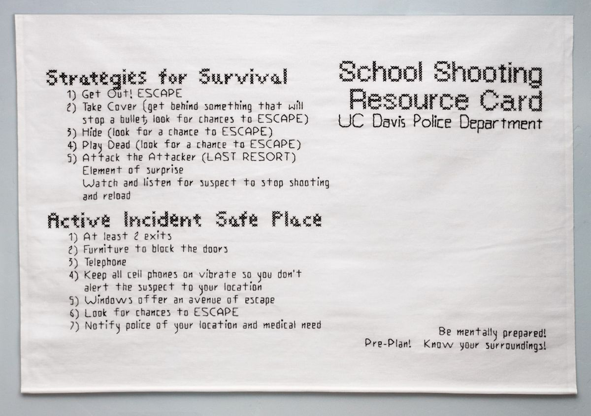 Active Shooter Directions #1