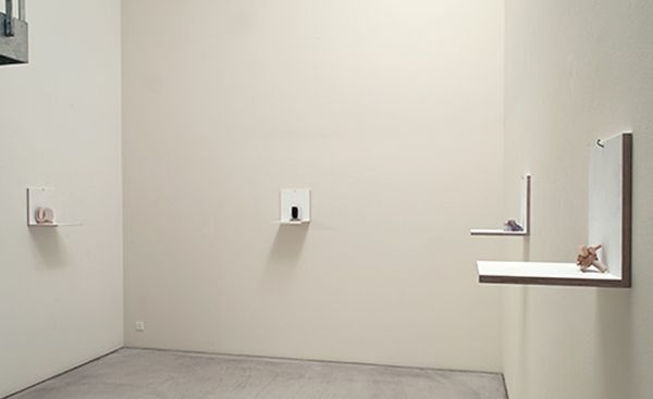 Is This an Idea for Sculpture? by Richard Tuttle, Annemarie Verna Galerie (5 of 8)