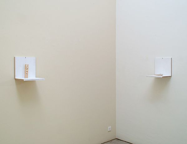 Is This an Idea for Sculpture? by Richard Tuttle, Annemarie Verna Galerie (8 of 8)