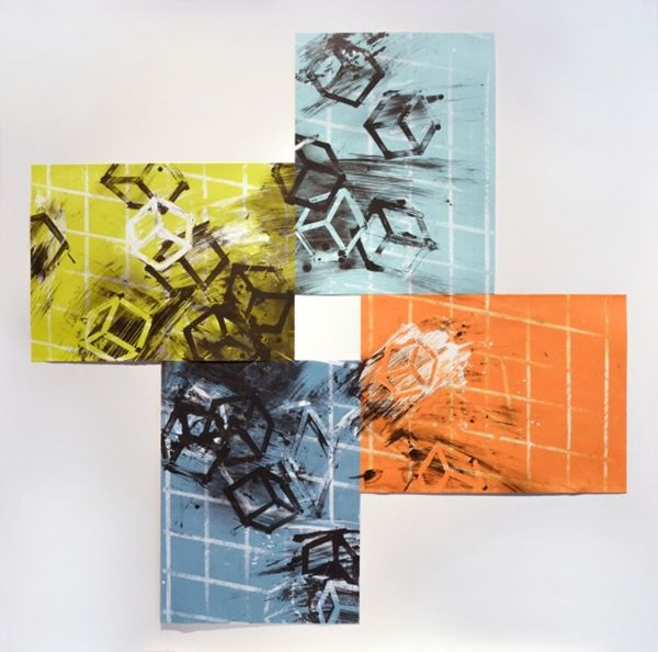 Contemporary American works on paper
