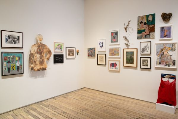 An Alternative Canon: Art Dealers Collecting Outsider Art (Group Exhibition), Andrew Edlin Gallery (5 of 8)