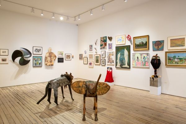 An Alternative Canon: Art Dealers Collecting Outsider Art (Group Exhibition), Andrew Edlin Gallery (4 of 8)