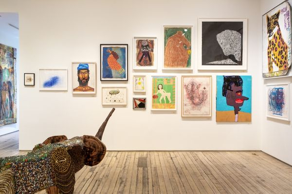 An Alternative Canon: Art Dealers Collecting Outsider Art (Group Exhibition), Andrew Edlin Gallery