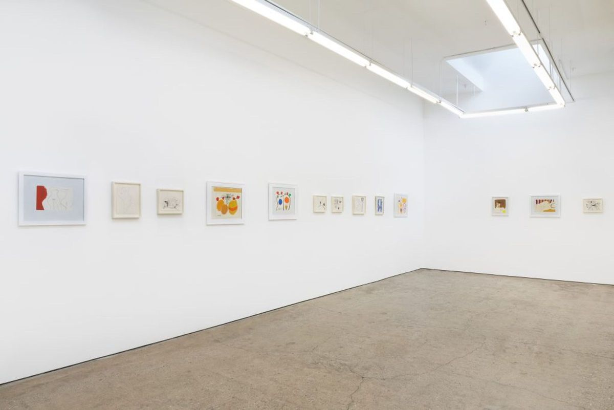 Roger Hilton Curated by Kenny Schachter