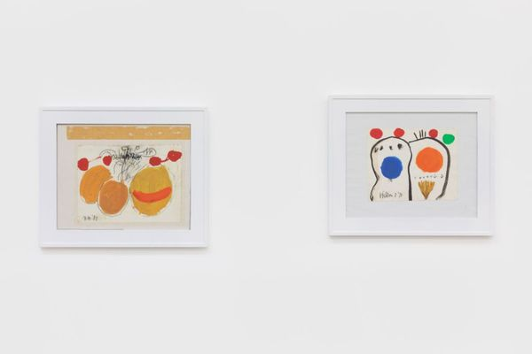 Roger Hilton Curated by Kenny Schachter by Roger Hilton, Nino Mier Gallery