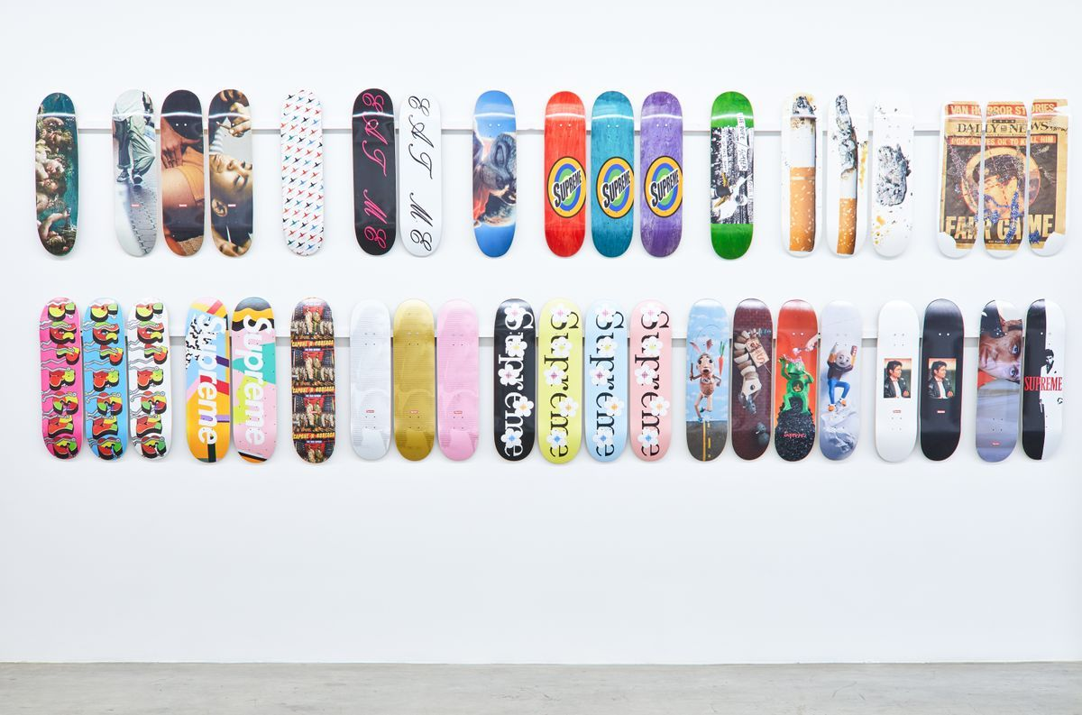 Inferno – Supreme Skateboard and Accessory Collection