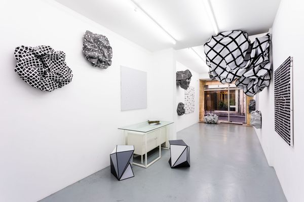 Loving imperfectly by Esther Stocker, Galerie Alberta Pane | Paris (3 of 6)