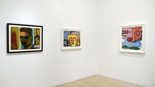 Intensity in Paint: Installation of Six Works