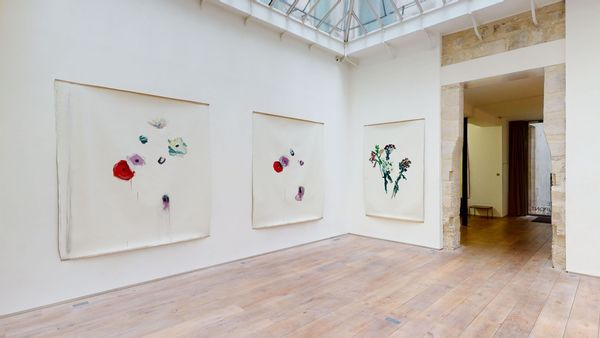Solo exhibition by Damien Cabanes, Galerie Eric Dupont (3 of 4)