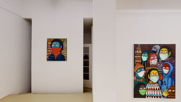 'We're all in this together' and 'Zwei Null Zwei Null' (Group Exhibition), Krinzinger Projekte (3 of 5)