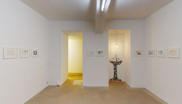 'We're all in this together' and 'Zwei Null Zwei Null' (Group Exhibition), Krinzinger Projekte (4 of 5)