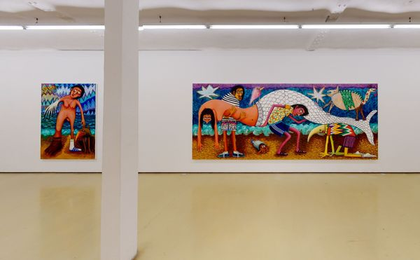 'We're all in this together' and 'Zwei Null Zwei Null' (Group Exhibition), Krinzinger Projekte (5 of 5)