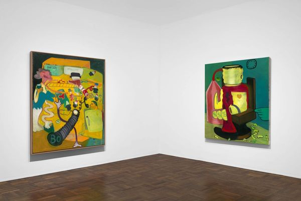 Murder in the Kitchen, Early Works by Peter Saul, Michael Werner | New York